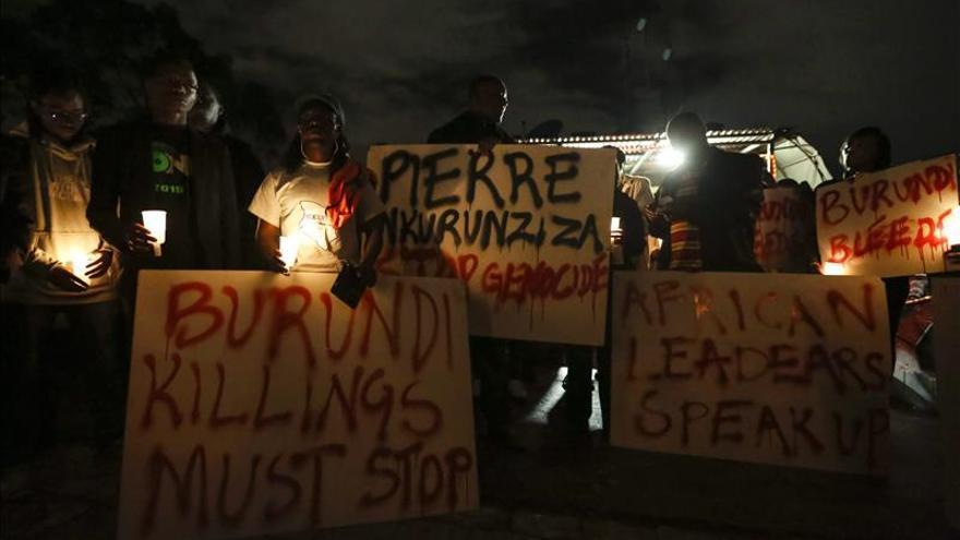 La ONU denuncia que Burundi se acerca a pasos agigantados a una guerra civil