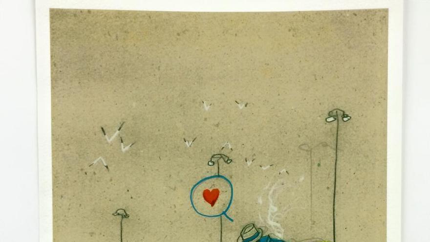 'El Tumbao', ilustración del artista Santos de Veracruz.