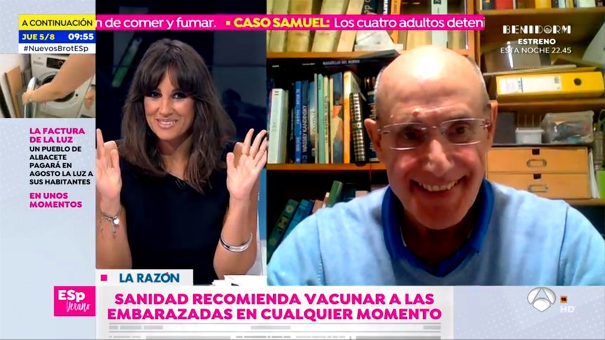 Lorena García anuncia su embarazo en 'Espejo Público'
