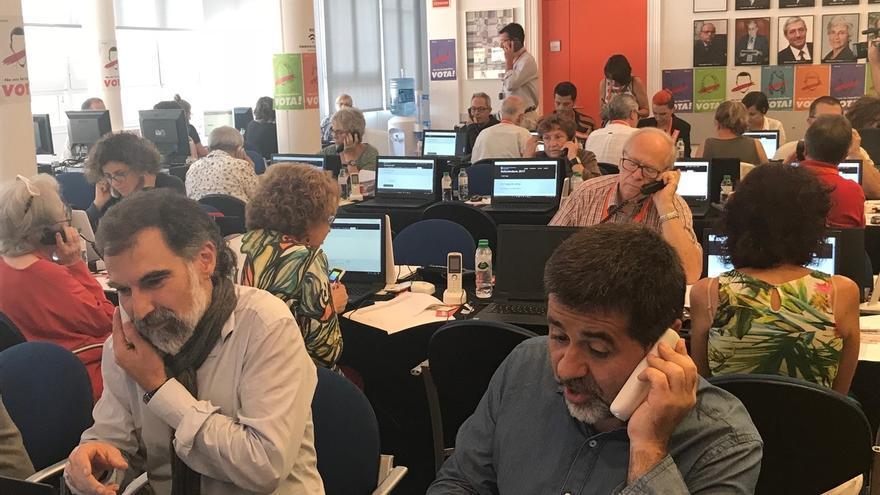 Òmnium Cultural dice que la suspensión de servicios del Centro de Telecomunicaciones no afectará al referéndum