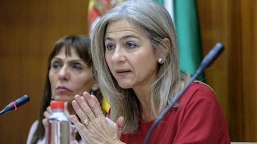 Patricia del Pozo, consejera de Cultura del Gobierno de Andalucía.