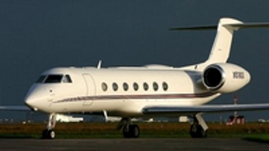 El famoso avioncito, idéntico al de Brufau.