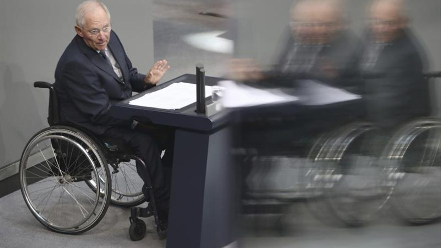 Schäuble pide abrir el debate sobre la subida de la edad de jubilación