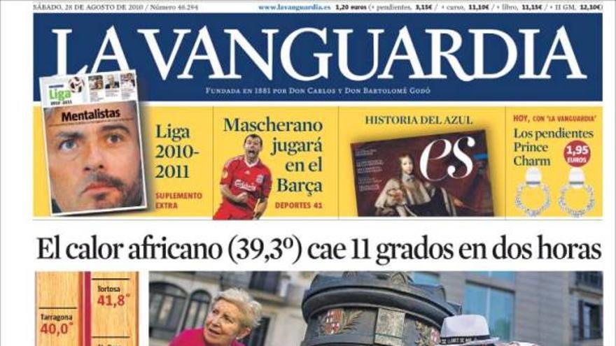 De las portadas del día (28/08/2010) #12