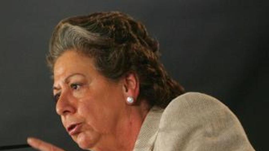 """Rita Barberá insta a Cándido-Pumpido a explicarse y pedir perdón por """"quitar pruebas evidentes y exculpatorias"""""""