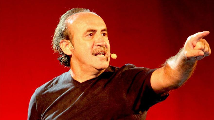 El humorista fallecido este miércoles, en una de sus últimas actuaciones/ Huelva Buenas Noticias