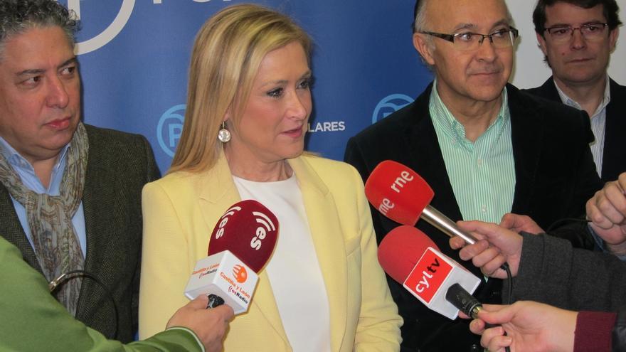 """Cifuentes: """"No sé si somos los únicos que nos tomamos España en serio, pero sí los únicos con plan serio para España"""""""