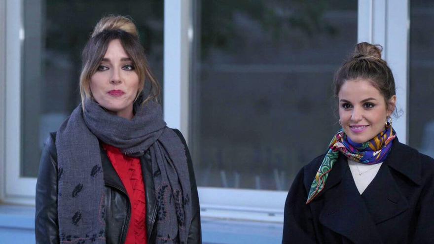Anna Simón y Marta Torné en 'Persona infiltrada' cuando ésta participó como invitada