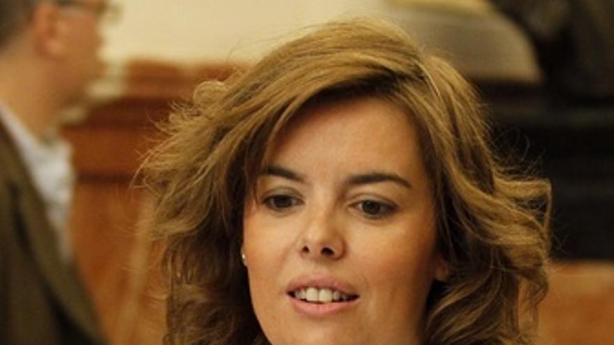 Soraya Sáenz De Santamaría, Portavoz Del Grupo Popular