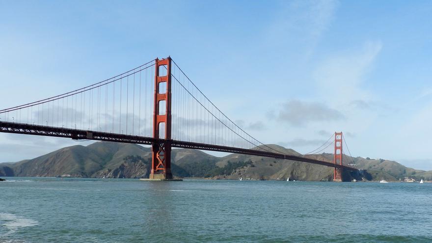 El Golden Gate Bridge conecta San Francisco con Sausalito. Daniel Hartwig