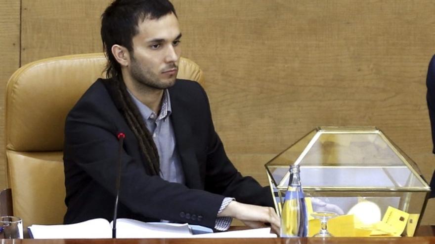 Miguel Ardanuy, diputado de Podemos en la Asamblea de Madrid