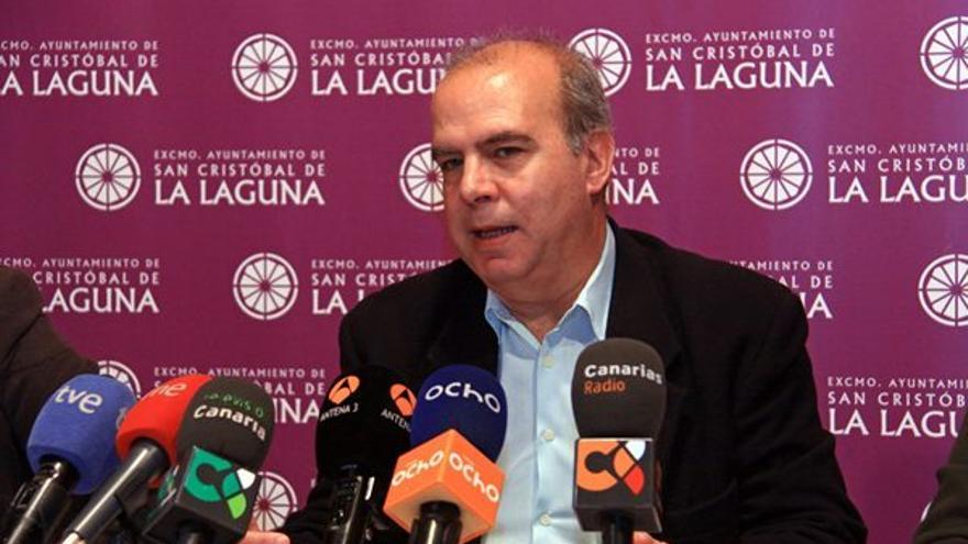 Antonio Pérez Godiño, portavoz de CC en el Ayuntamiento de La Laguna. (DIARIO DE AVISOS)