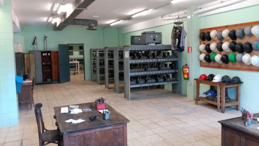 Centro Interpretativo Minero Pozo Pilar. Foto: Museo Escucha