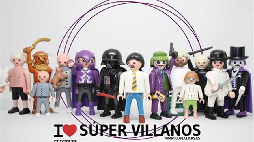 I love Super Villanos