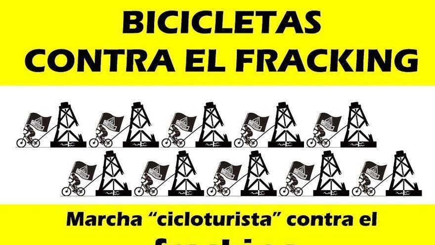 Bicicletada contra el fracking