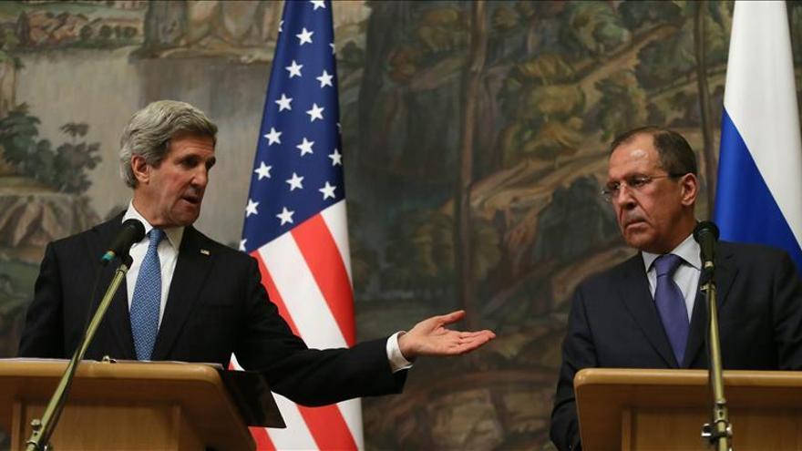 """Kerry y Lavrov se muestran """"confiados"""" por los avances en la conferencia sobre Siria"""