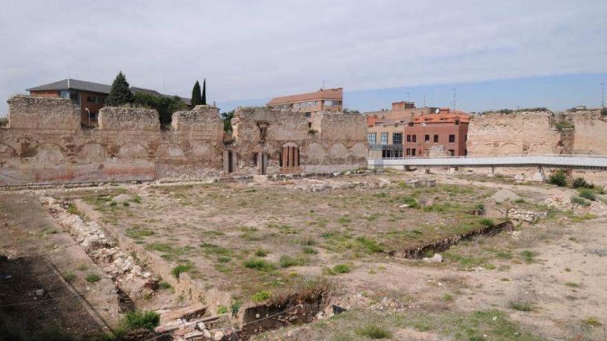 Vista del Alcázar desde la crujía norte