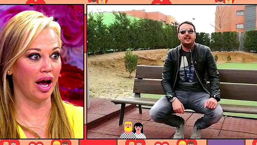 El videomensaje romántico de Miguel a Belén Esteban en 'Sálvame'