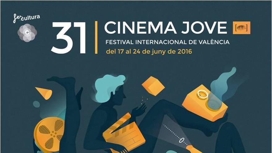 Cartel de la 31ª edición de Cinema Jove