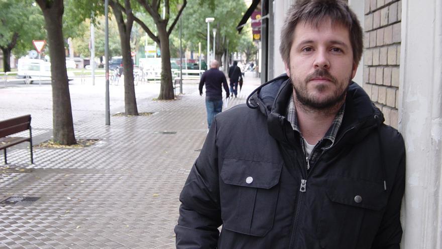 El integrante de la asociación de consumidores Irache Alberto Lazcoz.