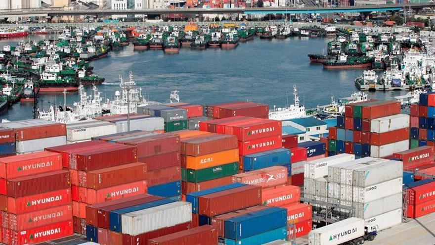 Superávit comercial surcoreano creció un 5,68 % interanual en octubre