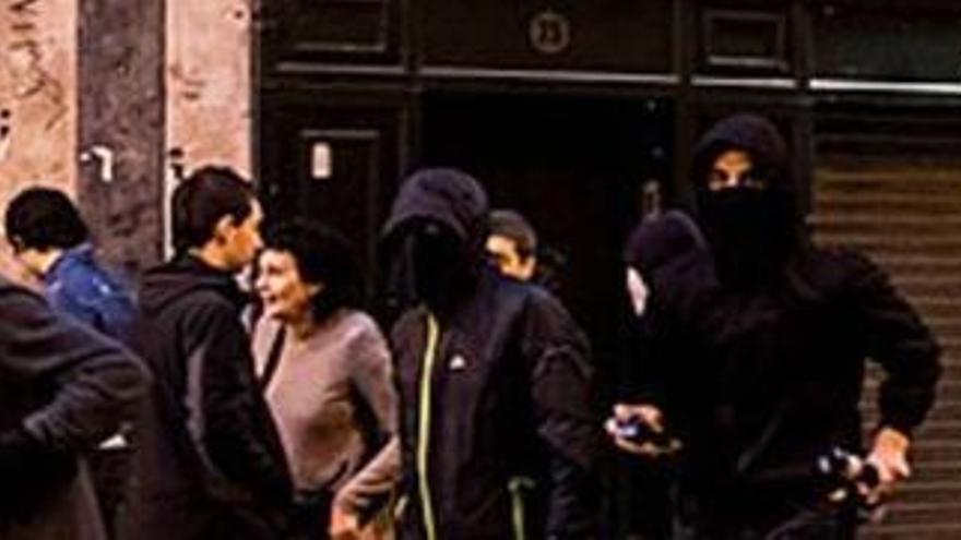 Disturbios en Pamplona el 11 de marzo de 2017