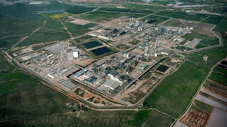 El polígono industrial de la Aljorra (Cartagena, Murcia), donde se encuentra la planta productora de plástico e incineradora de Sabic / SABIC