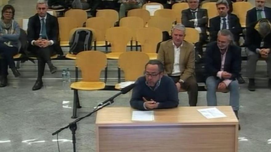 El Bigotes en su declaración ante el juez de Gürtel.