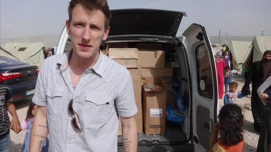 Hay al menos un francés entre los yihadistas que decapitaron a Peter Kassig