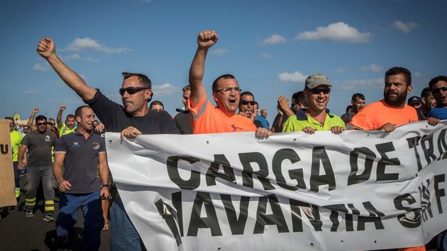 Trabajadores de Navantia, expectantes ante la actuación de España con Arabia Saudí