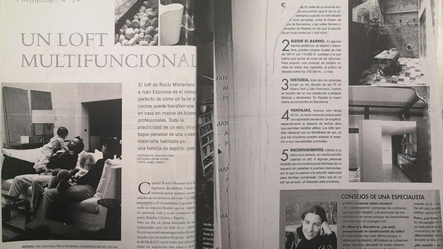 Entrevista concedida por Monasterio en la revista Habitania.