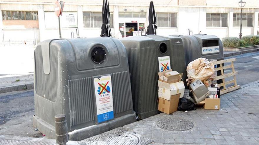 Andalucía, Cataluña y Madrid lideran la lista de reciclaje urbano