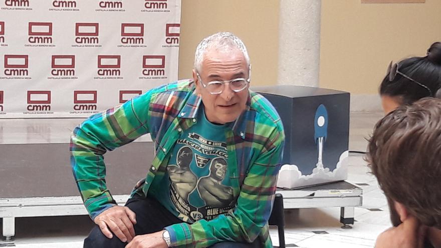 Lluís Miñarro en Abycine Lanza