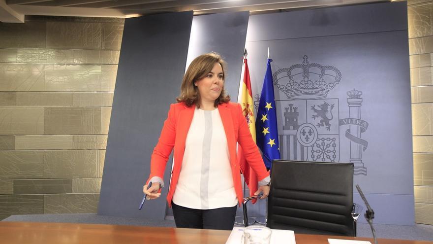 Santamaría exige a ERC que no utilice la final de la Copa del Rey para hacer política y defender la independencia