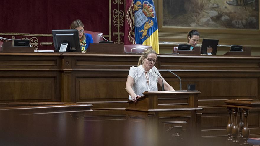 Luz Reverón, diputada del Partido Popular