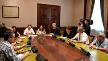 Pablo Iglesias busca en la sociedad civil apoyo y contenido para un Gobierno de Unidas Podemos con el PSOE