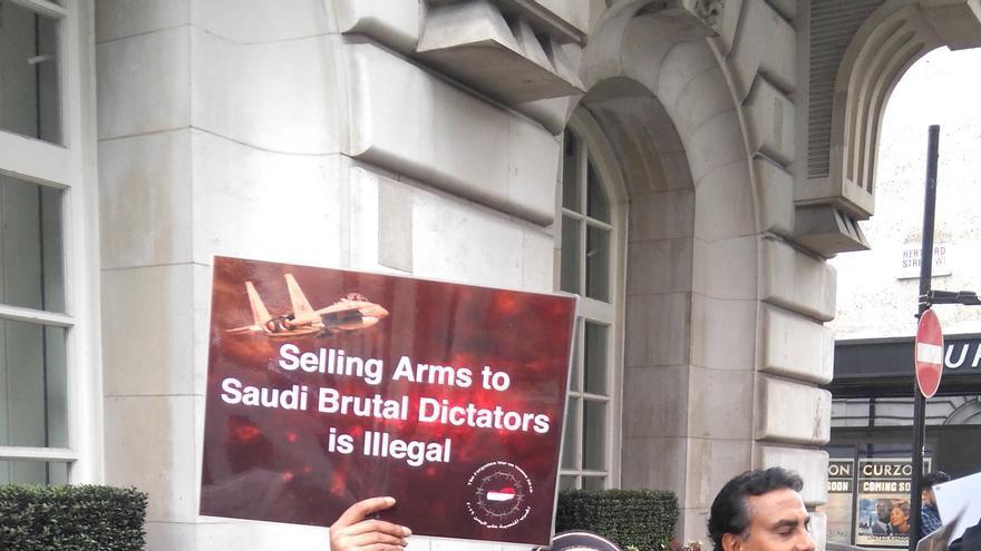 Kim Sharif, abogada británica de origen yemení fundadora de Human Rights for Yemen.   Cristina Belda Font