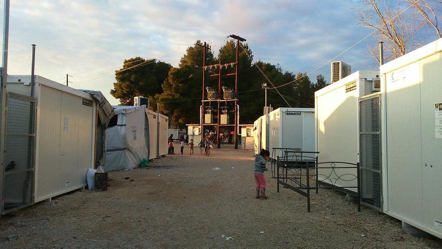 Campo de refugiados de Ritsona, Grecia