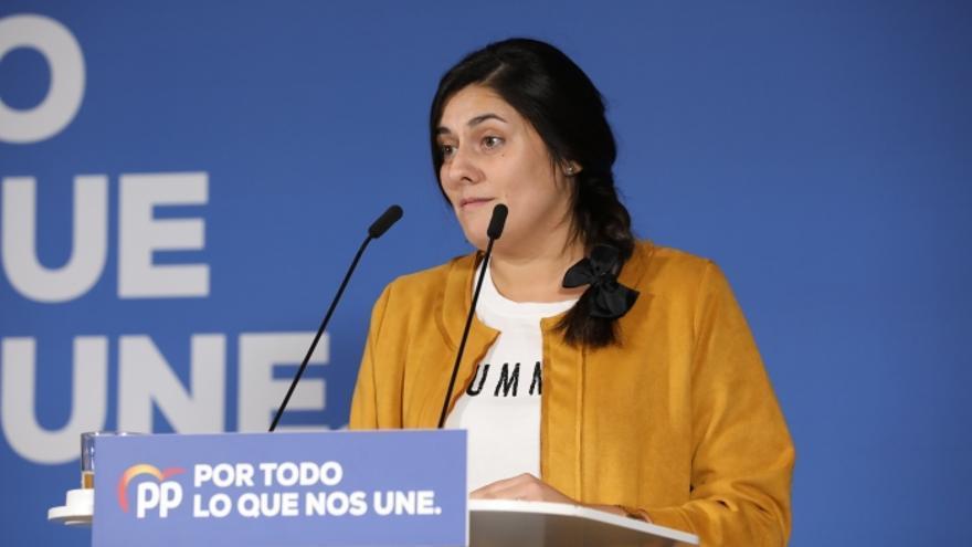 Beatriz Jiménez Linuesa, cabeza de lista del PP al Congreso por Cuenca