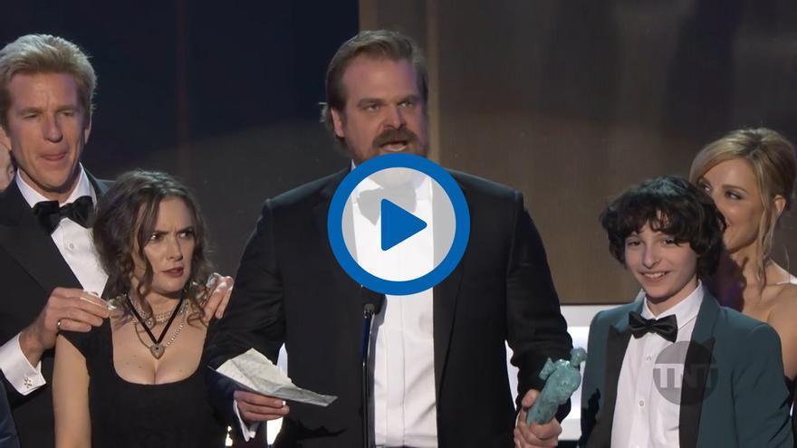 Stranger Things en los SAG Awards
