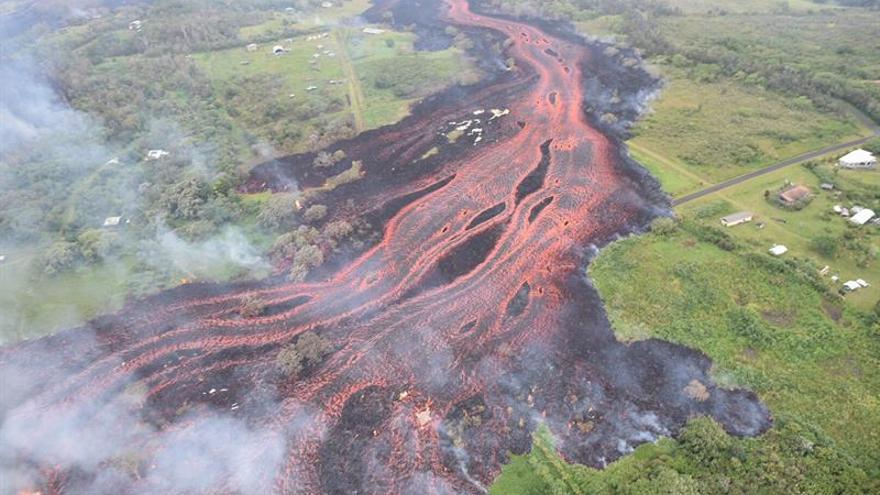 El volcán Kilauea entró de nuevo en erupción y amenaza el suministro eléctrico
