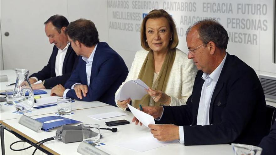 Rudi seguirá al frente del PP aragonés hasta el próximo congreso regional