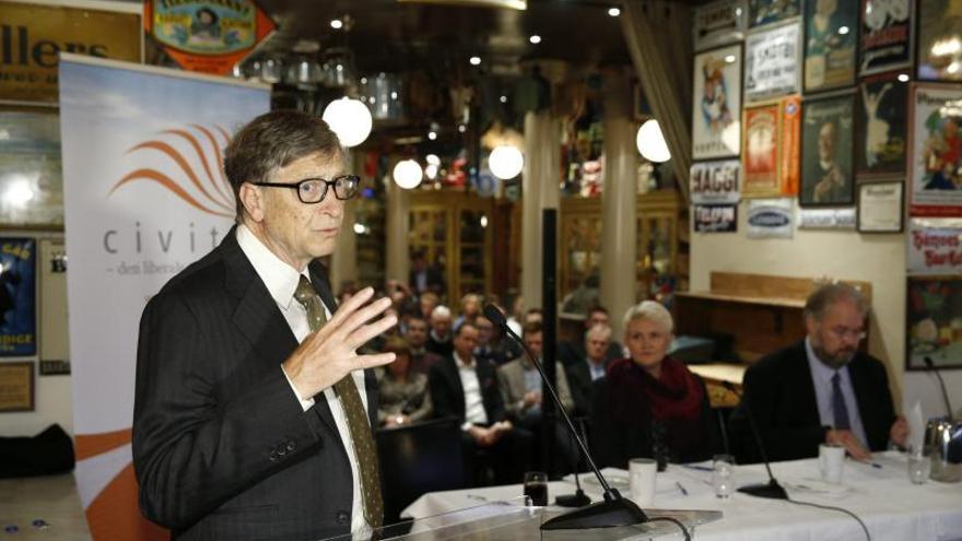 """Bill Gates es la persona más admirada del mundo según un sondeo para """"The Times"""""""