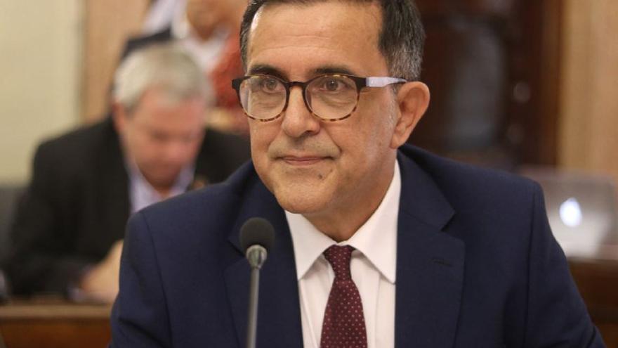 José Antonio Serrano, portavoz del PSOE en Murcia