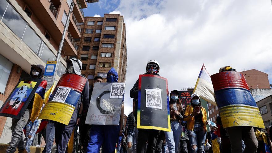 Las protestas sociales marcan un atípico Día de la Independencia en Colombia