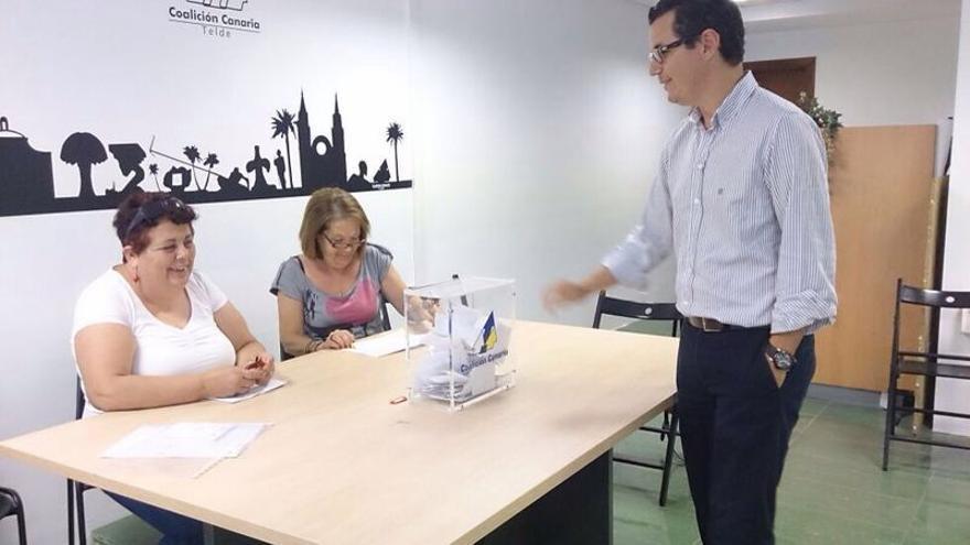 Pablo Rodríguez es proclamado candidato a la alcaldía de Telde