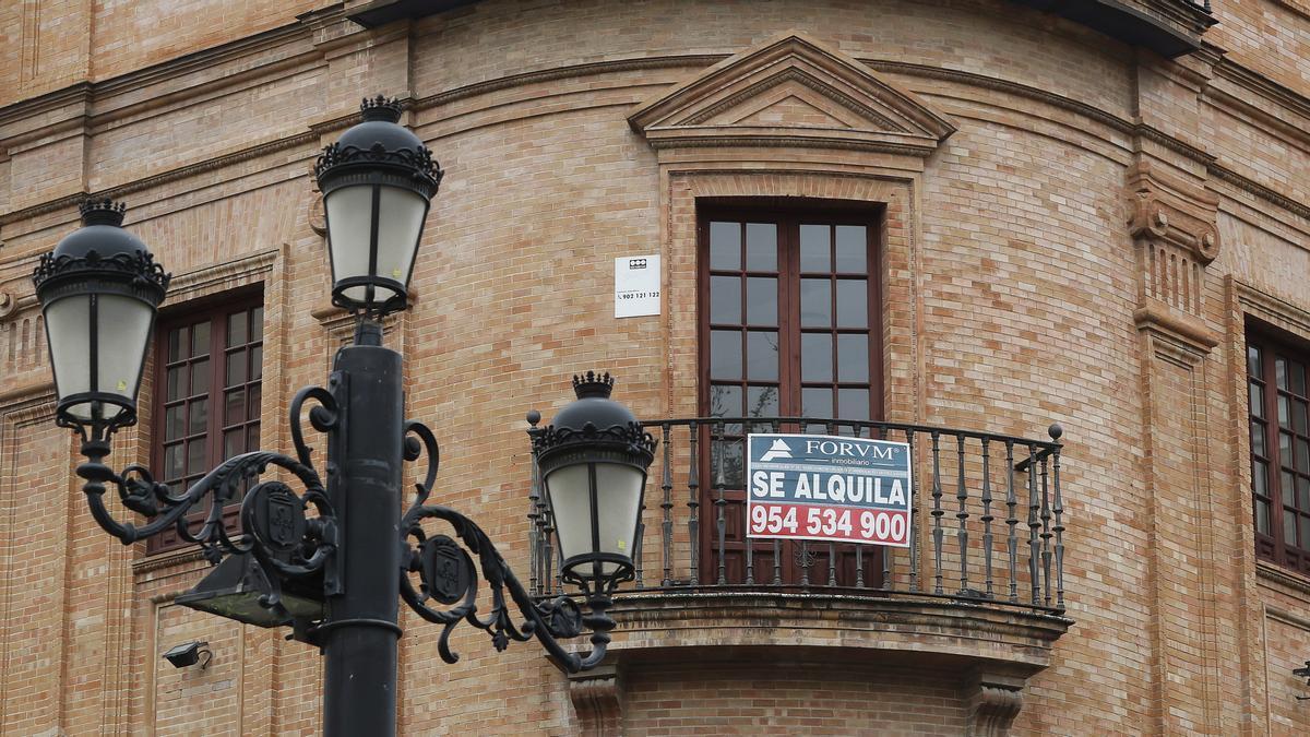 Alquiler de viviendas en Sevilla.