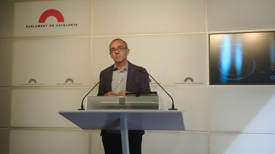 """Coscubiela (SíQueEsPot) reconoce que el resultado """"dificulta"""" un referéndum pactado con Madrid"""