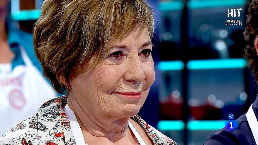 Celia Villalobos ,en 'Masterchef Celebrity 5'
