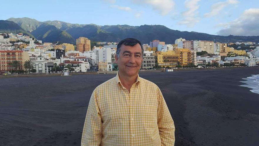 Juan Arturo San Gil, concejal de Ciudadanos (Cs) en el Ayuntamiento de Santa Cruz de La Palma.